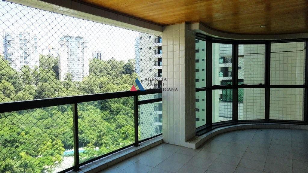 Apartamento em condomínio fechado para locação, Panamby, São Paulo - AP3044.