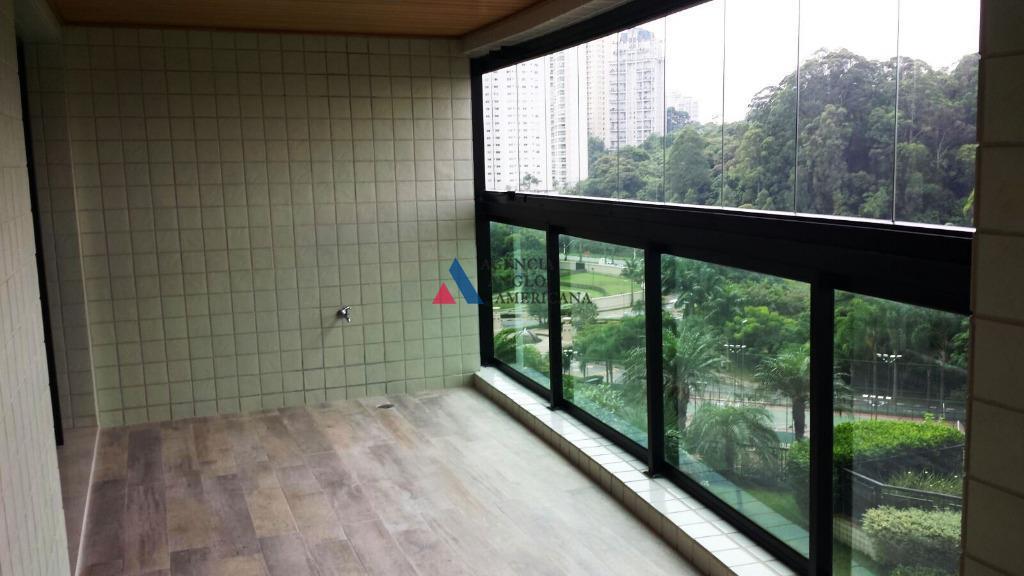 Apartamento condomínio fechado para locação, Panamby, São Paulo - AP6153.