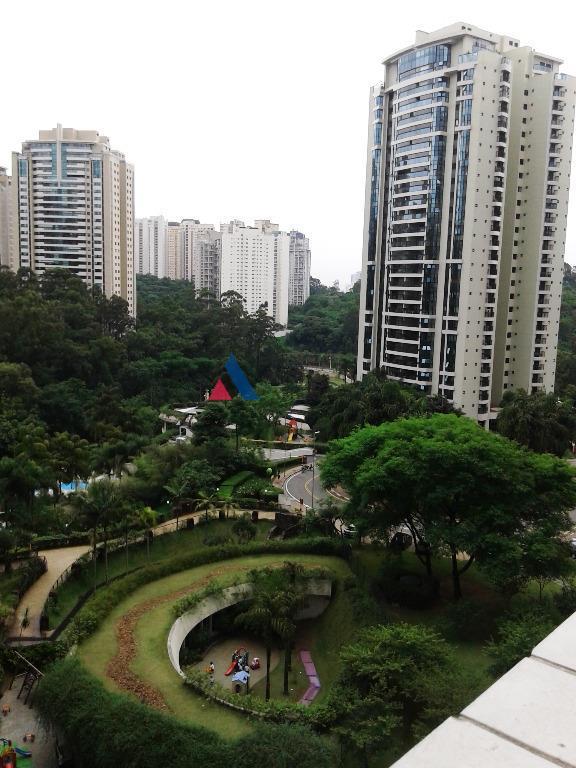 Apartamento condomínio fechado para venda e locação, Panamby, São Paulo - AP10354.