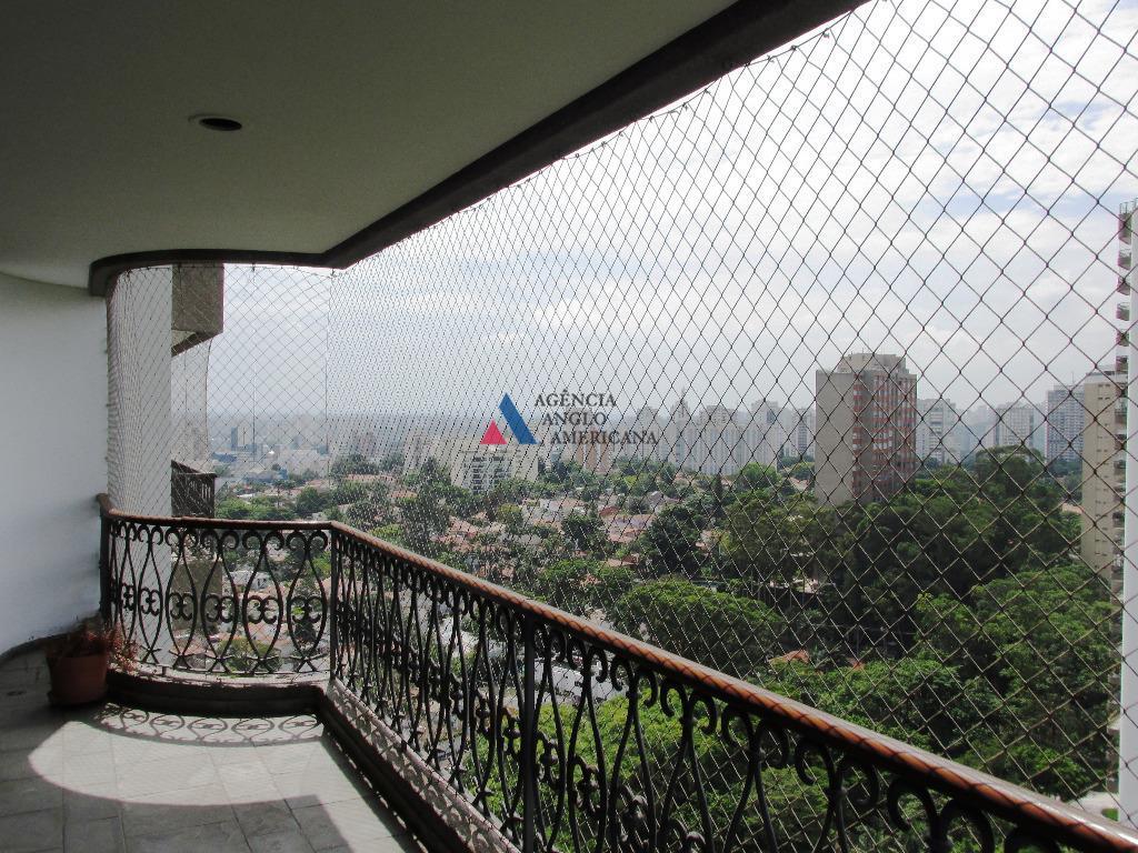 Apartamento em condomínio fechado para locação, Alto da Boa Vista, São Paulo - AP4921.
