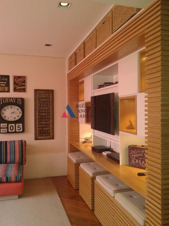 apartamento mobiliado, com extremo requinte no acabamento.ar condicionado em todos os ambientessão 3 suítes, sendo a...