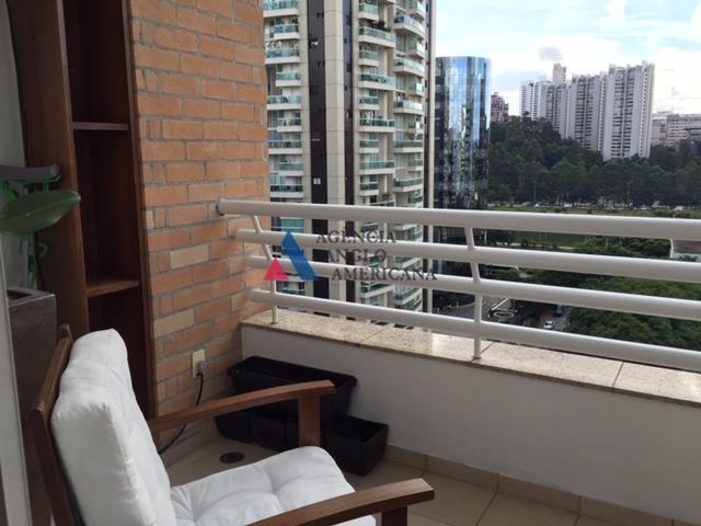 Apartamento Duplex mobiliado, para locação, Brooklin, São Paulo.