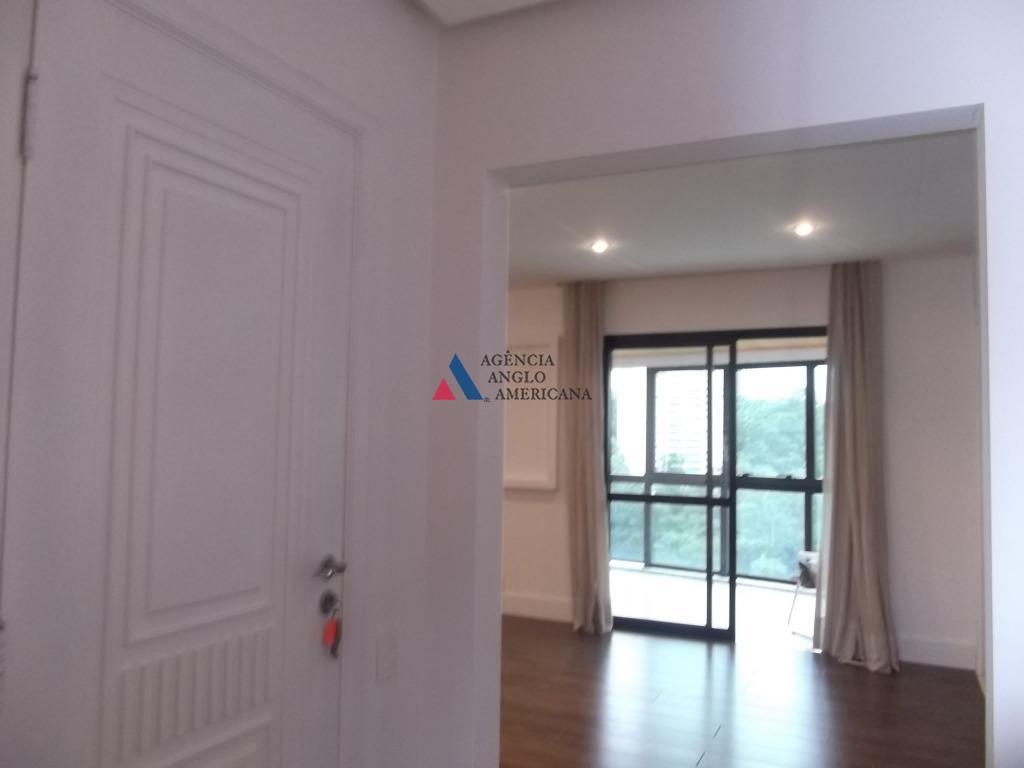 Apartamento em condomínio fechado para locação, Panamby, São Paulo.