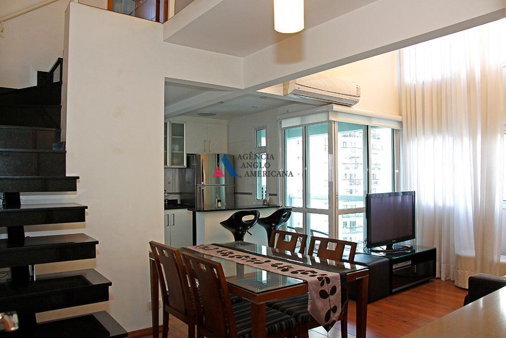 Apartamento mobiliado para locação, Moema, São Paulo - AP12120.