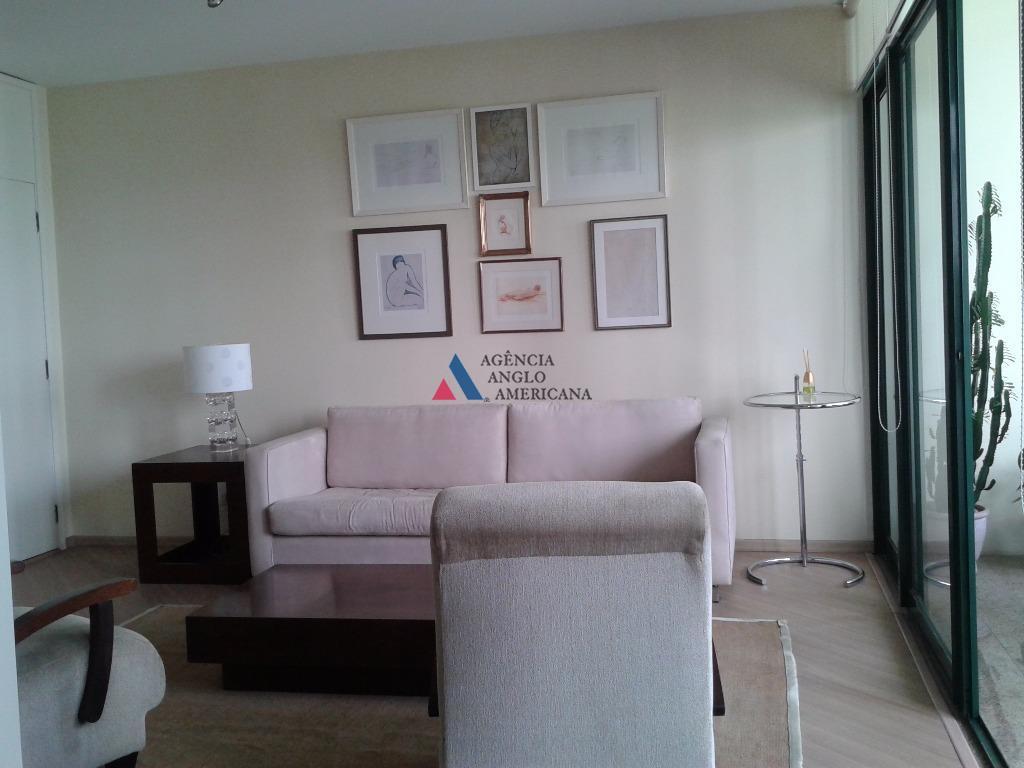 Apartamento MOBILIADO para locação, Indianópolis, São Paulo - AP7013.
