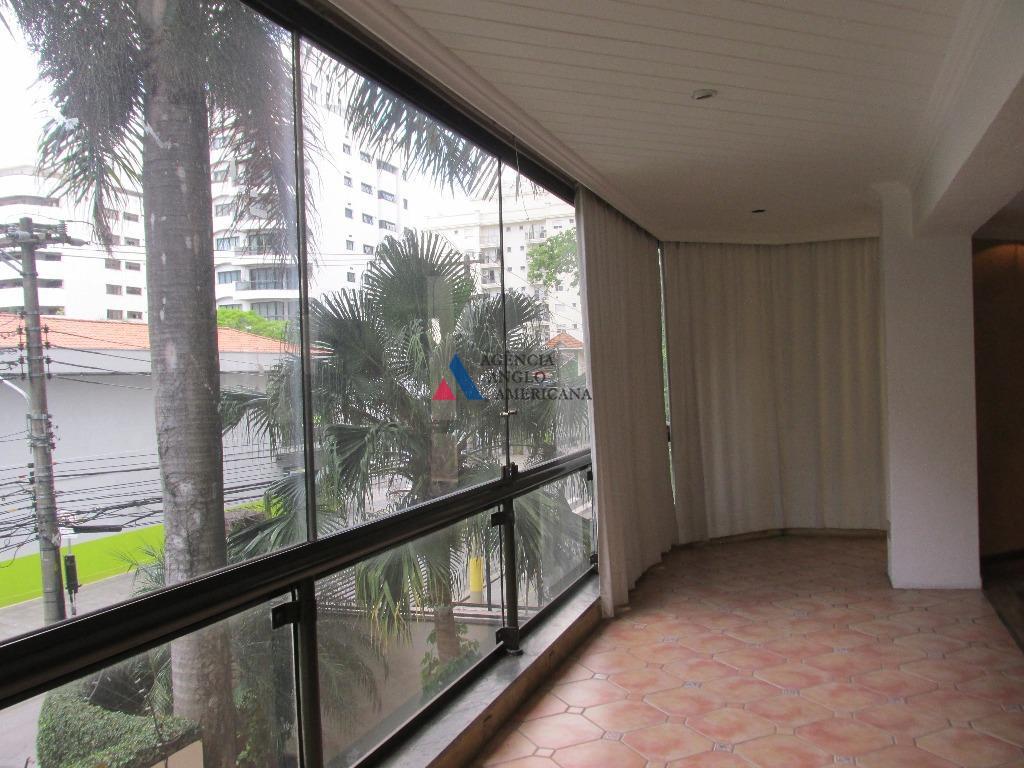 Apartamento Residencial para locação, Brooklin Novo, São Paulo - AP4106.