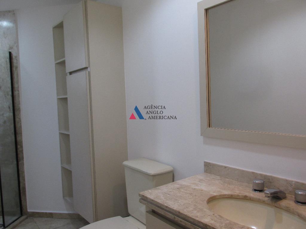 apartamento - locação - localização privilegiada no itaim bibi, com lazer completo e ar condicionado nas...