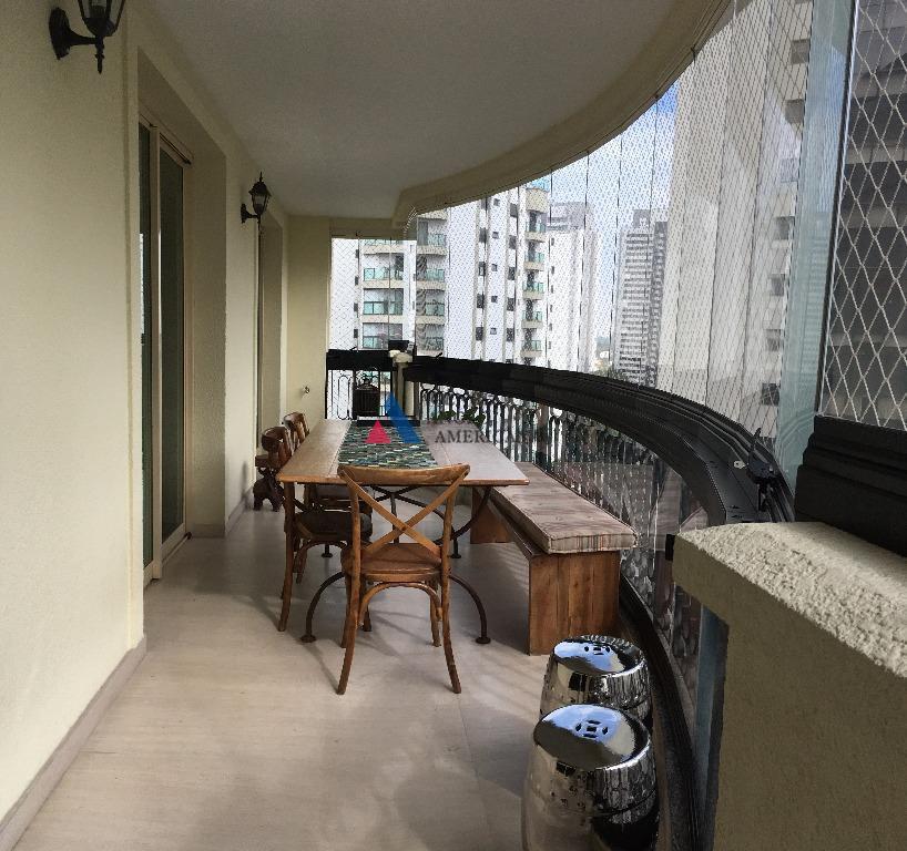 Apartamento Residencial para locação, Campo Belo, São Paulo - AP5337.