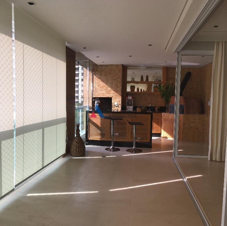 Apartamento mobiliado para locação, Campo Belo, São Paulo.