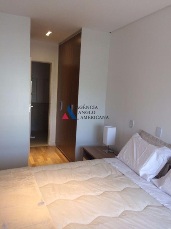 apartamento moderno, completo mobiliadoedifício de alto padrão, com área de lazer completaserviços de arrumadeira e manobrista,...