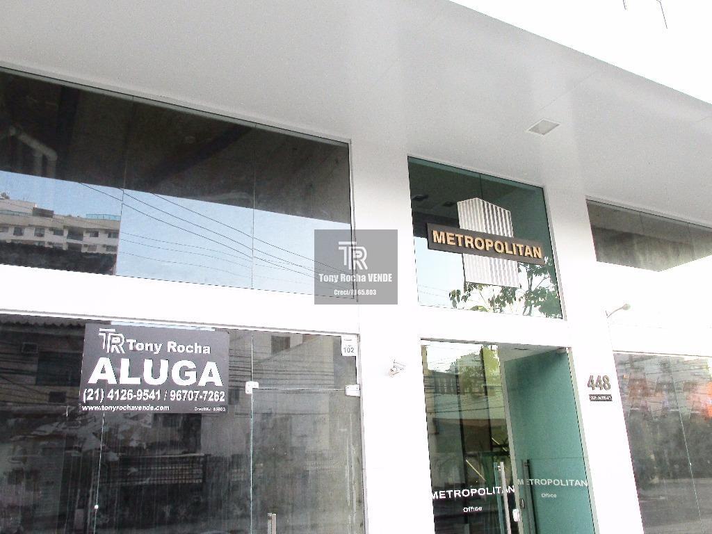 Excelentes Lojas, Primeira Locação poss. de Mezanino - Jardim Icaraí