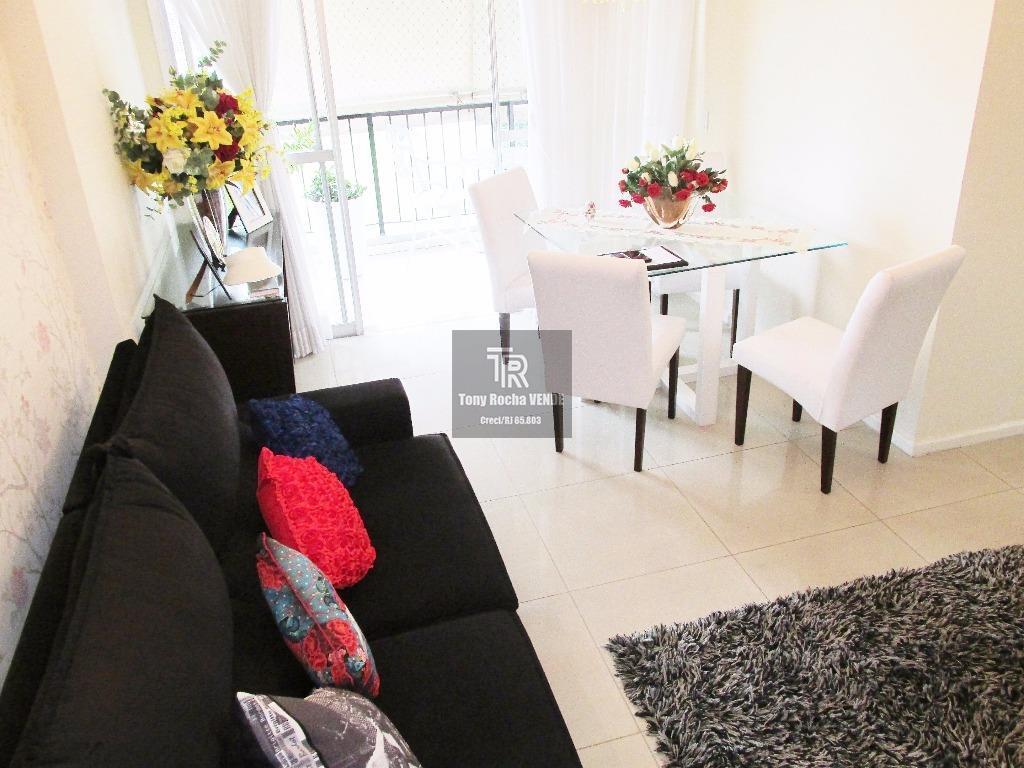 Amplo 2 Dormitórios, Varanda, Vaga e Infra Completa - Jardim Icaraí