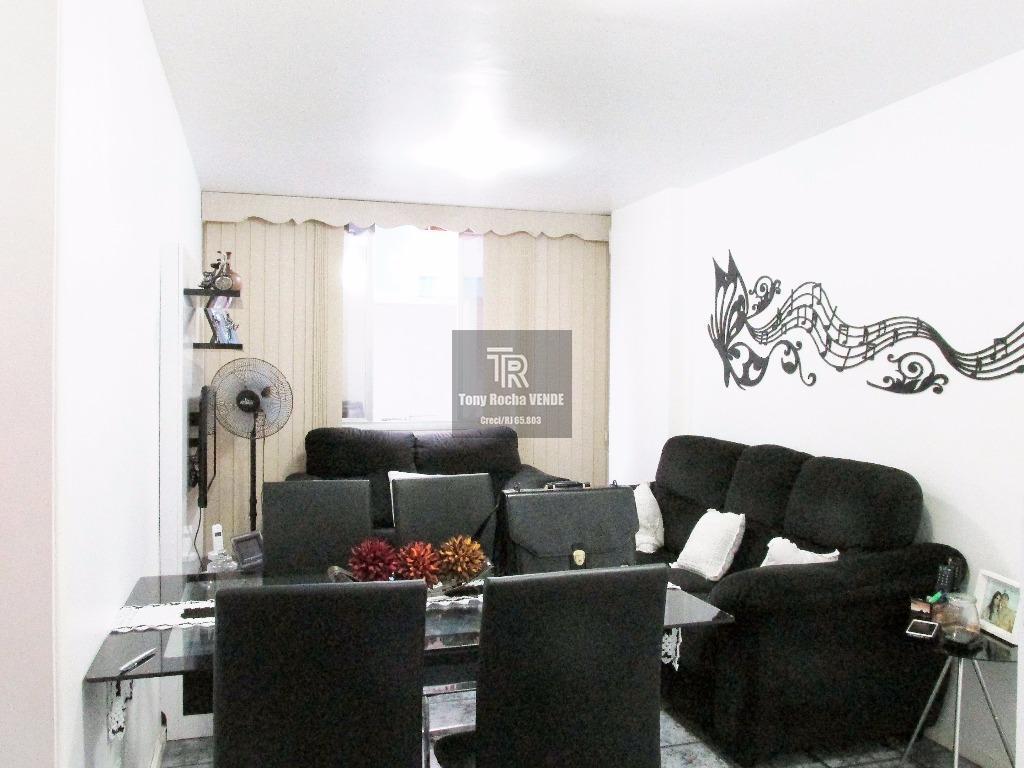 tony rocha vende: apartamento no barreto, zona norte de niterói. imóvel composto por 2 dormitórios, hall,...