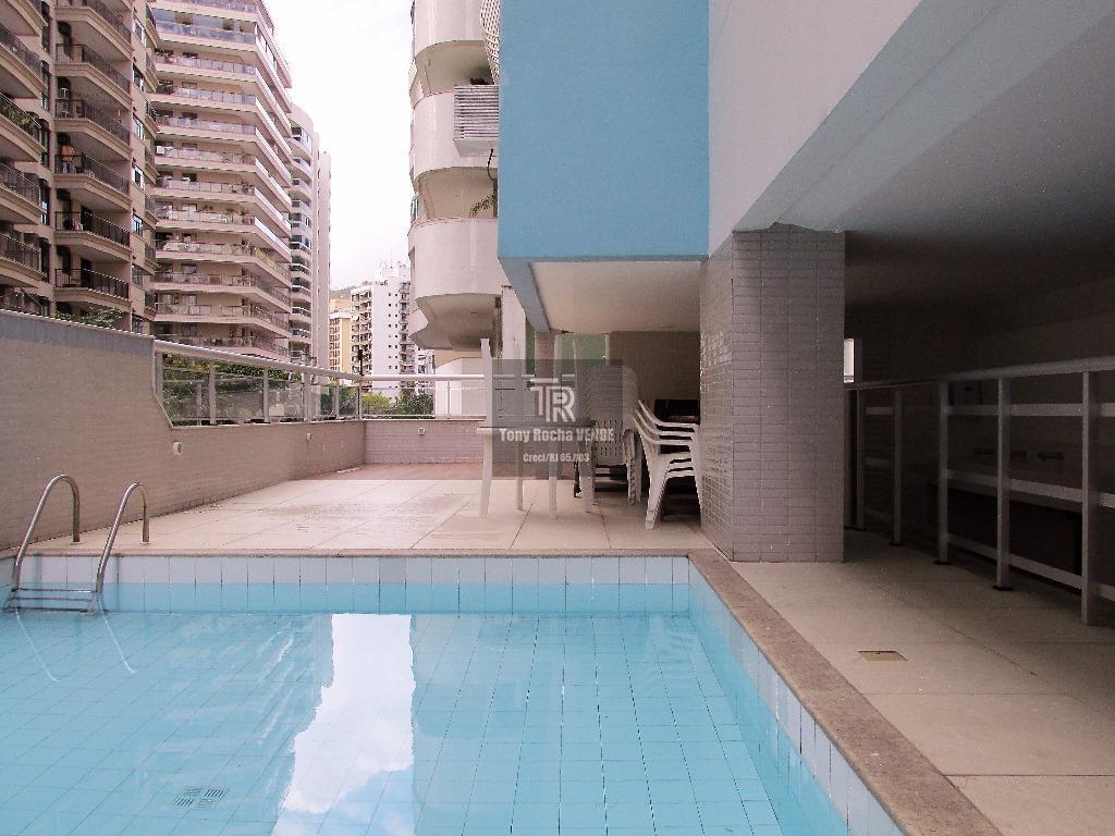 Cobertura 3 Quartos, 2 Vagas, com Churrasqueira, Piscina - Jardim Icaraí