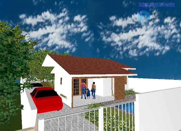 Casa em construção à venda, Jacumã, Conde.