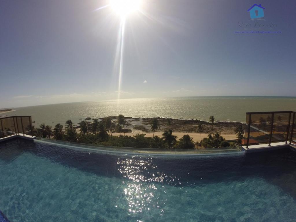 Apartamente nascente, vista permanente , 30 metros da praia! 75 m²