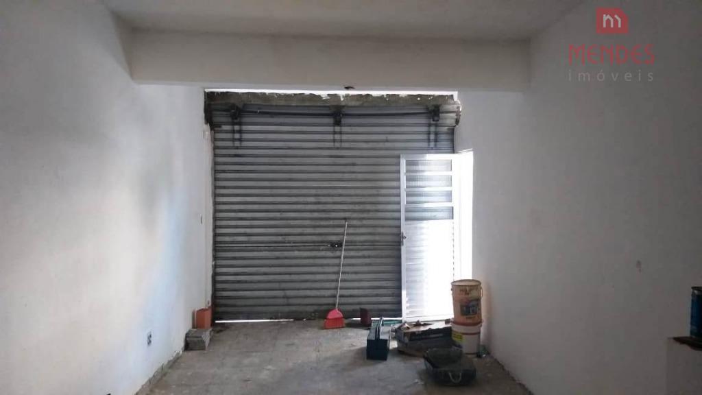 salão comercial na av pires do rio (sl0094)salão em fase de acabamento, previsão para o mês...