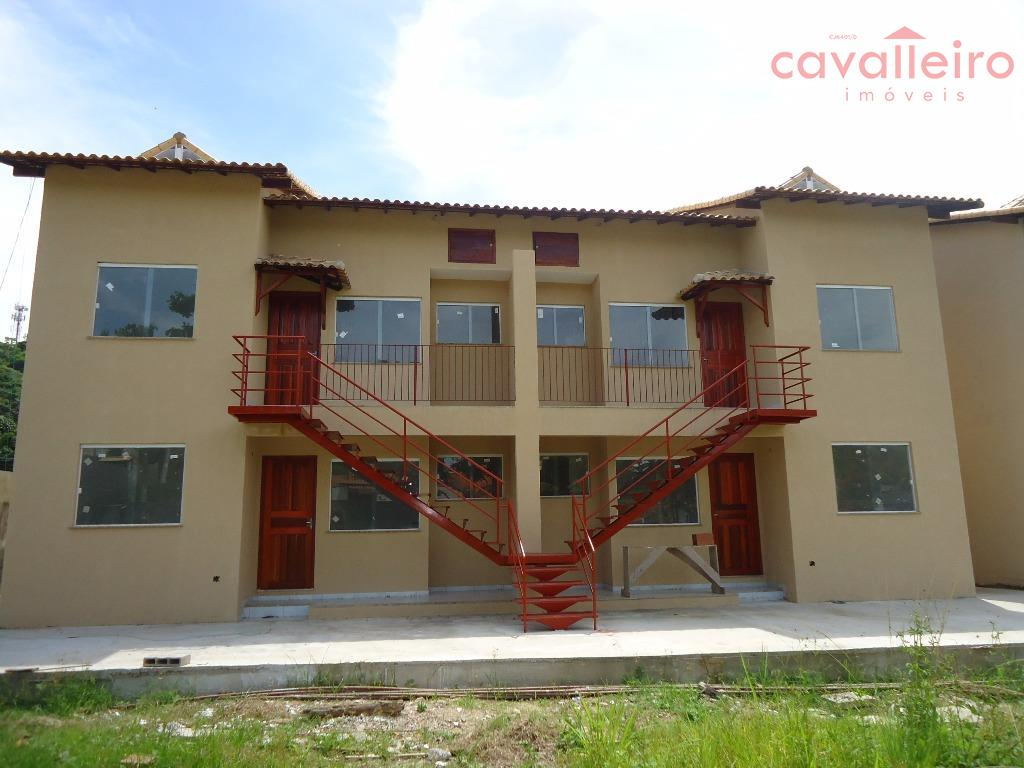 Apartamento residencial à venda, Centro, Maricá - AP0114.