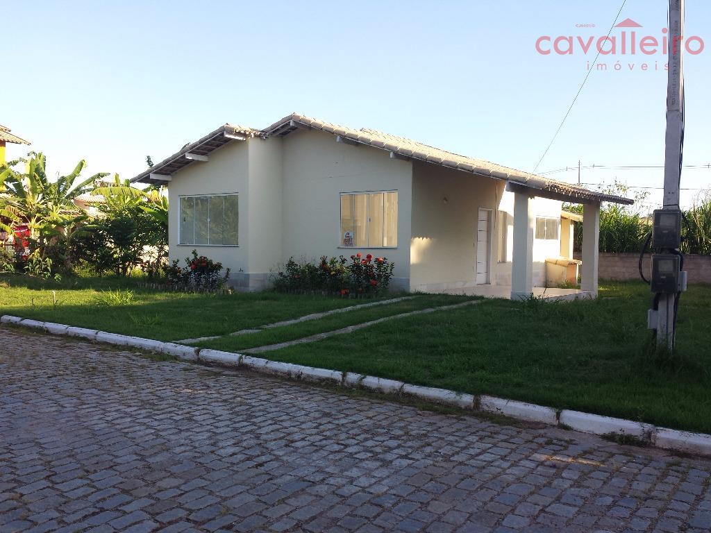 Casa 3 Quartos Em Condomínio, Cajueiros (Itaipuaçu), Maricá.