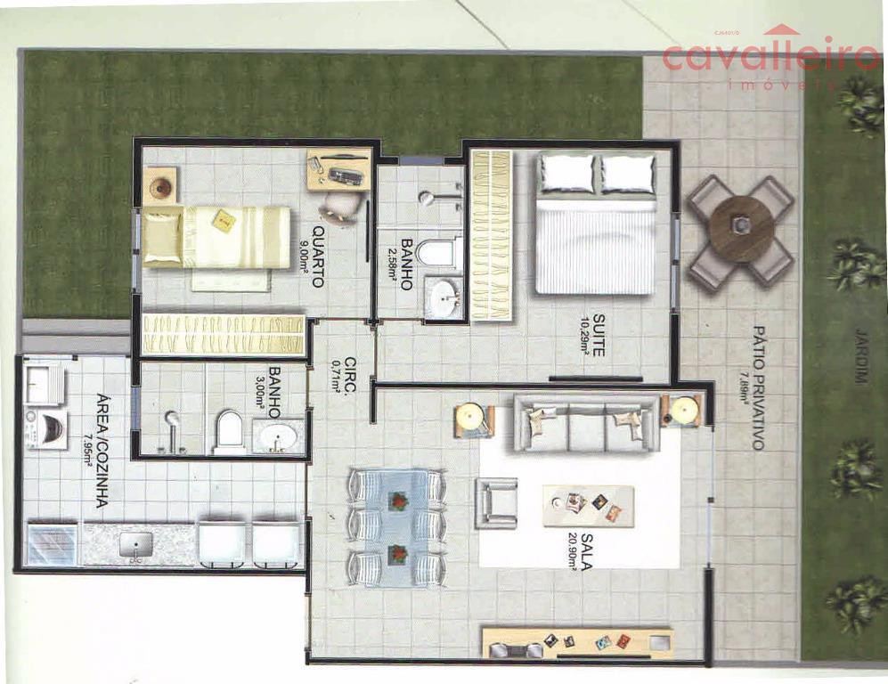 Apartamento 1º Pavimento