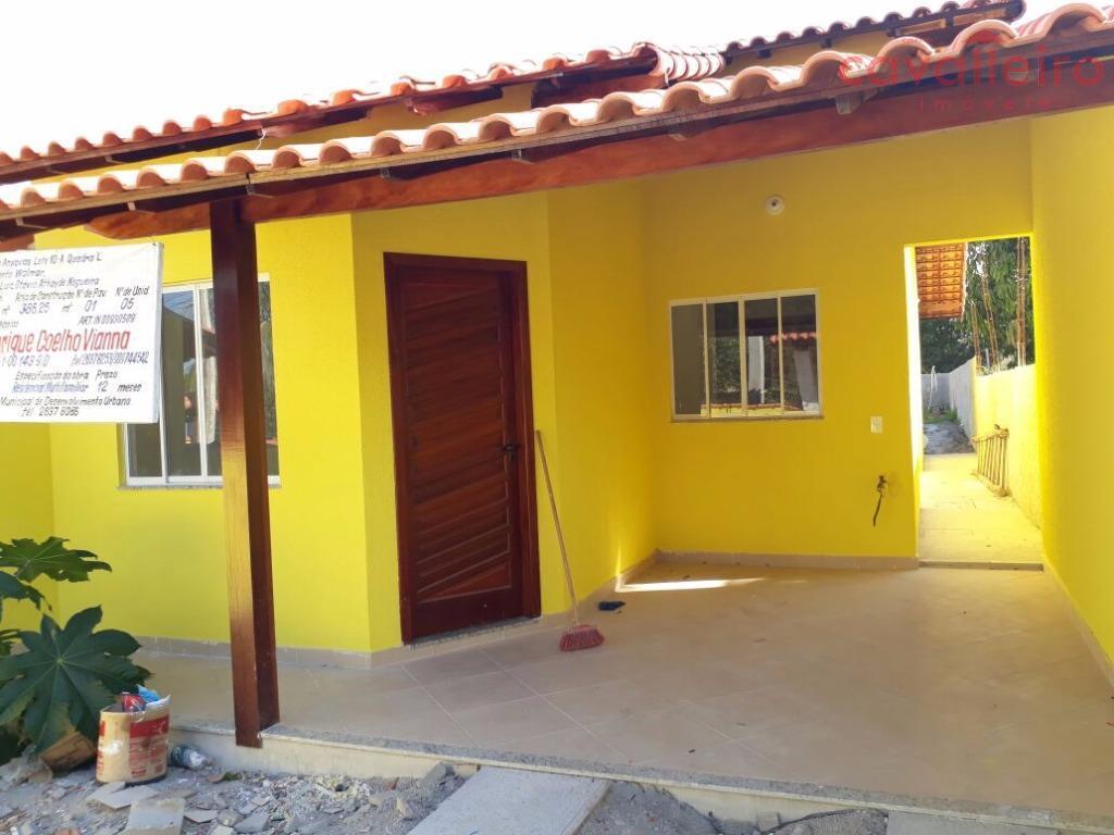 Casa com 2 quartos em São José Do Imbassaí, Maricá.