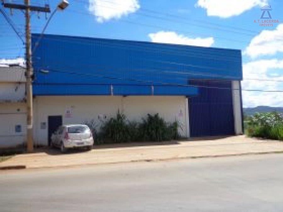 Galpão comercial para locação, Planalto, Montes Claros.