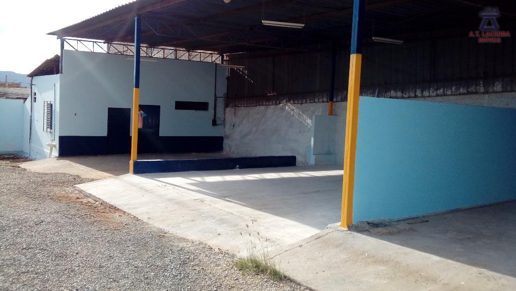 Galpão comercial para locação, Monte Alegre, Montes Claros.