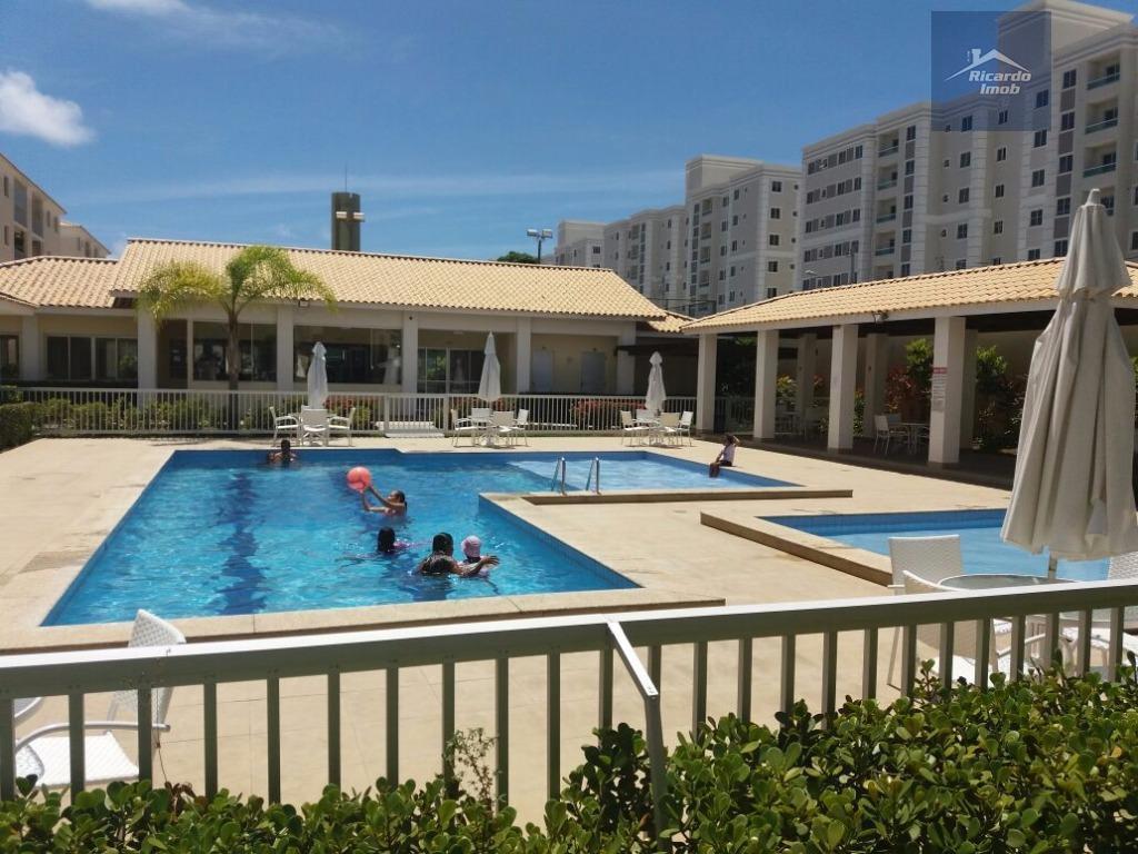 Apartamento residencial para venda e locação, Buraquinho, Lauro de Freitas - AP0046.