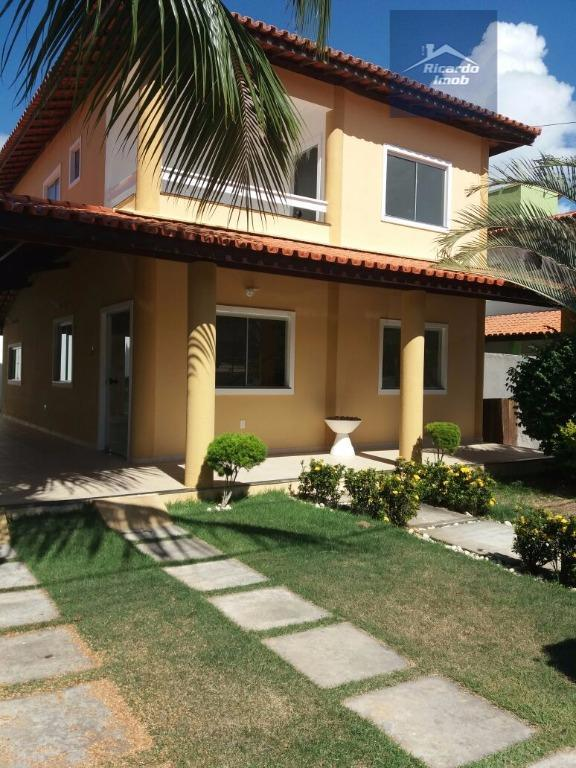 Casa residencial para locação, Buraquinho, Lauro de Freitas.