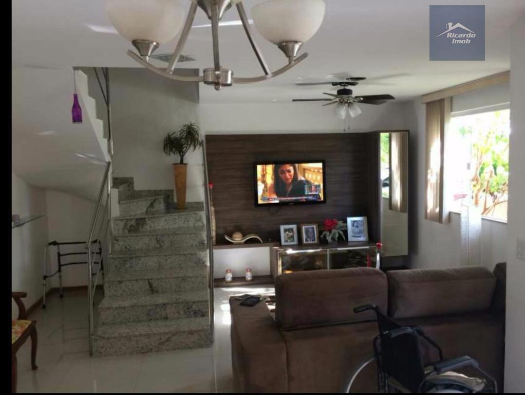 Casa residencial para locação, Buraquinho, Lauro de Freitas.condomí