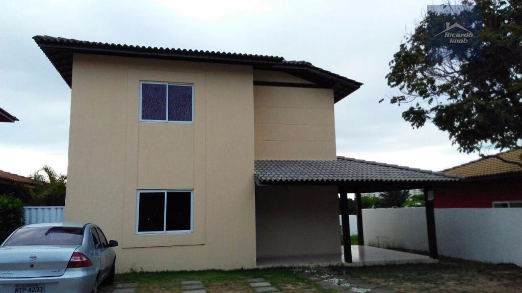 Casa residencial à venda, Vilas do Atlântico, Lauro de Freitas - CA0087.