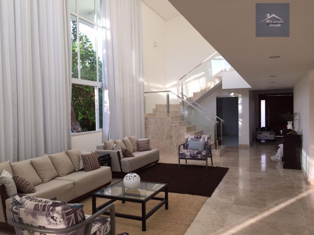 Casa residencial para locação, Condomínio Busca Ville,  Busca Vida, Camaçari.