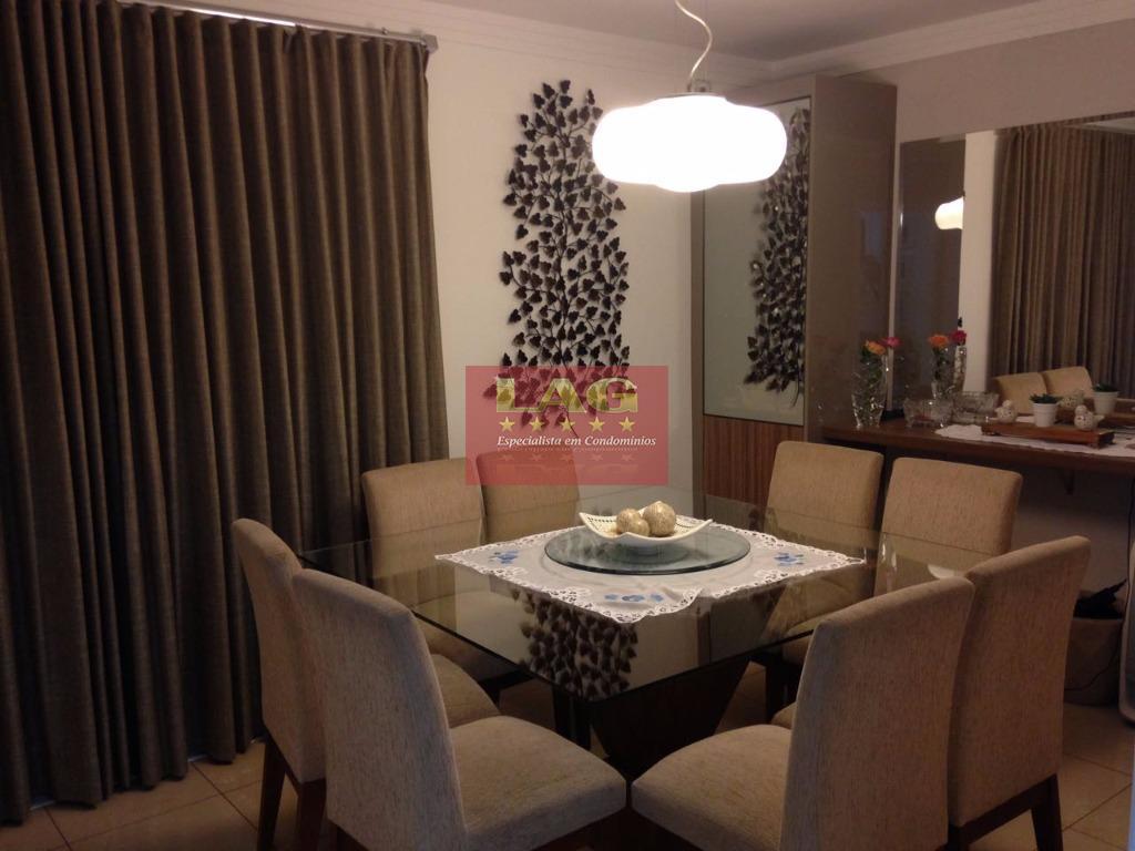 sobrado em condomínio de alto padrão com 04 suítes com armários planejados, sala de estar, sala...