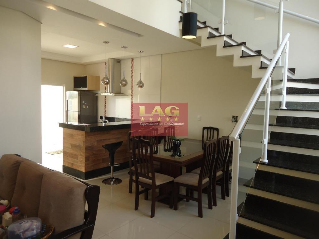 Casa residencial à venda, Condomínio Horto Florestal IV, Sorocaba - CA1370.