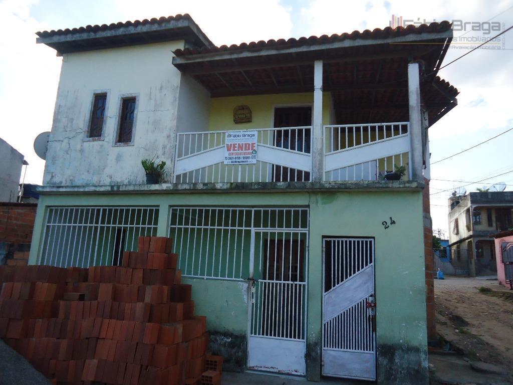 Casa residencial à venda, São Benedito, Santo Antônio de Jesus.