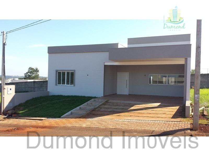 Casa Residencial à venda, Condominio Dom Laurindo, Foz do Iguaçu.