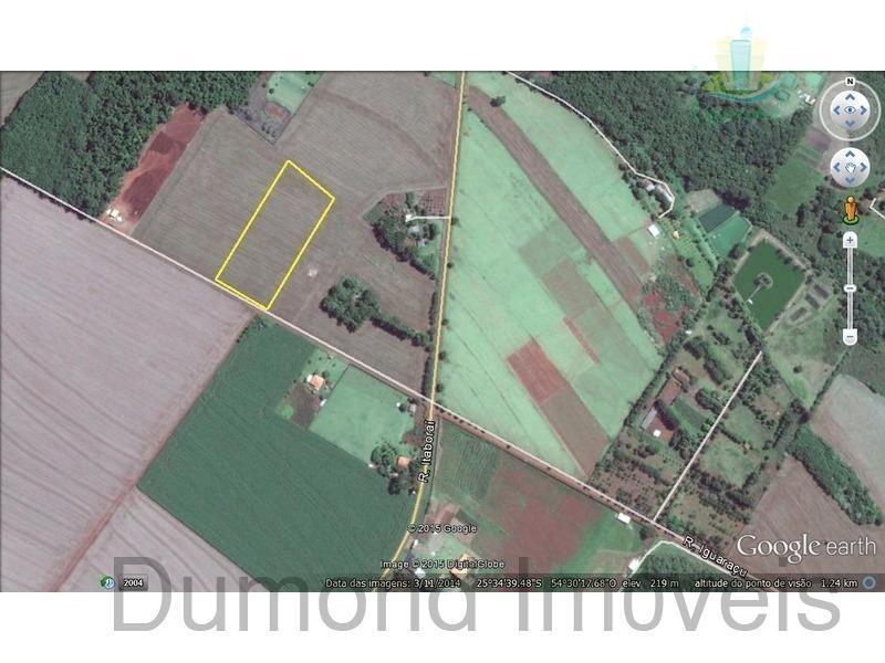 Área à venda, Imóvel Cataratas - Gleba II, Foz do Iguaçu - CH0004.