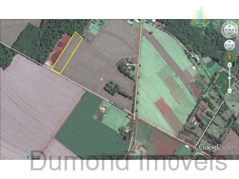 Chácara rural à venda, Imóvel Cataratas - Gleba II, Foz do Iguaçu - AR0001.