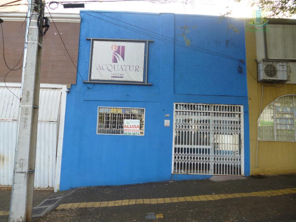 Sala comercial para locação no Centro de Foz do Iguaçu.