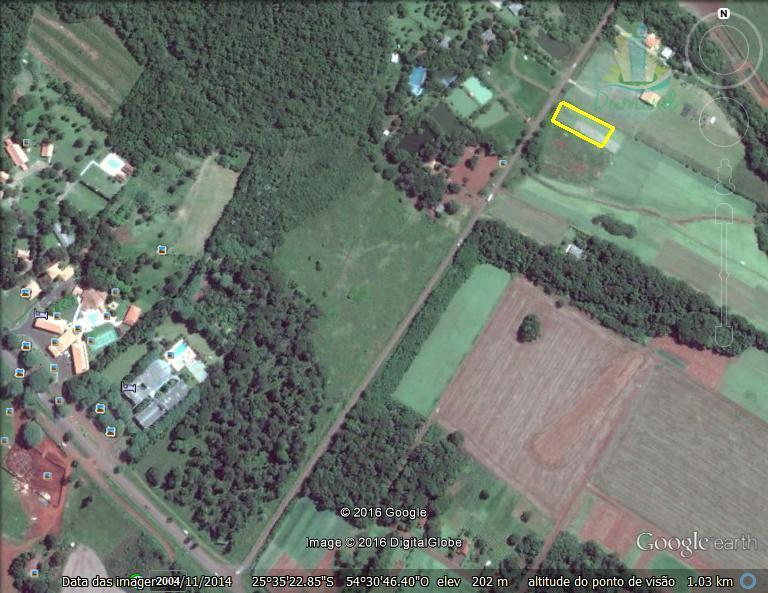 Terreno à venda, Arroio Dourado - Gleba II, Foz do Iguaçu.