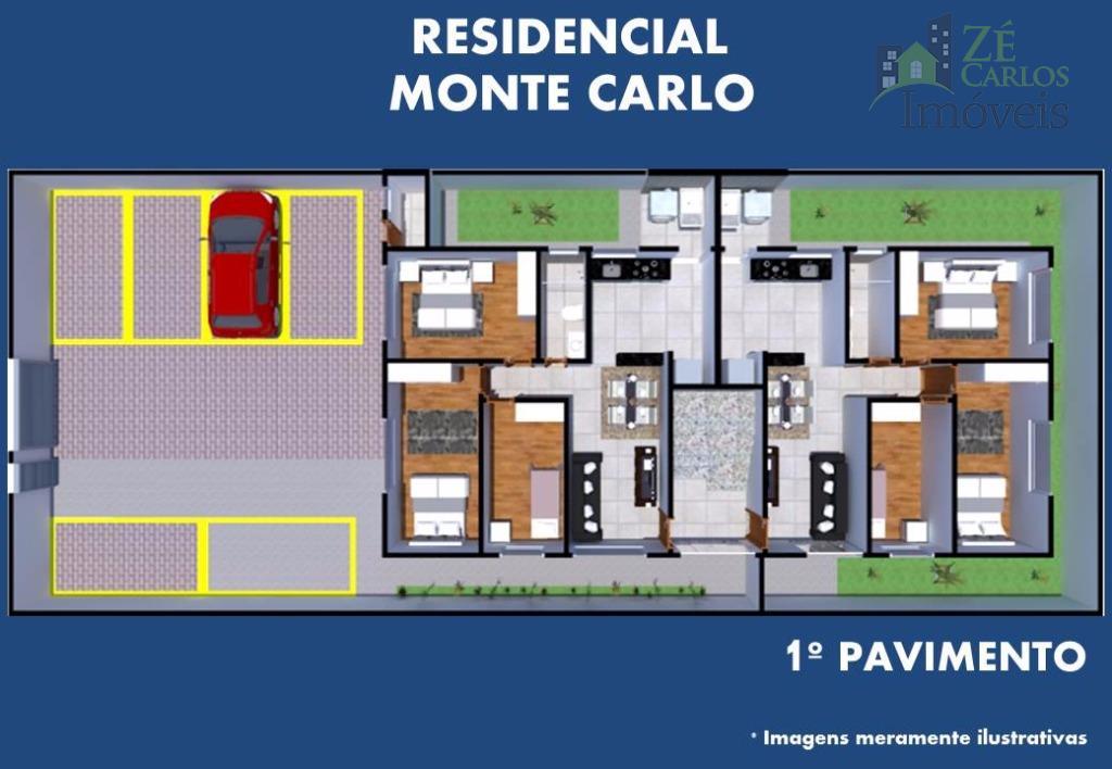 lançamento apartamentos de 03 quartos bairro porto seguro. sendo sala para dois ambientes, caga de garagem...