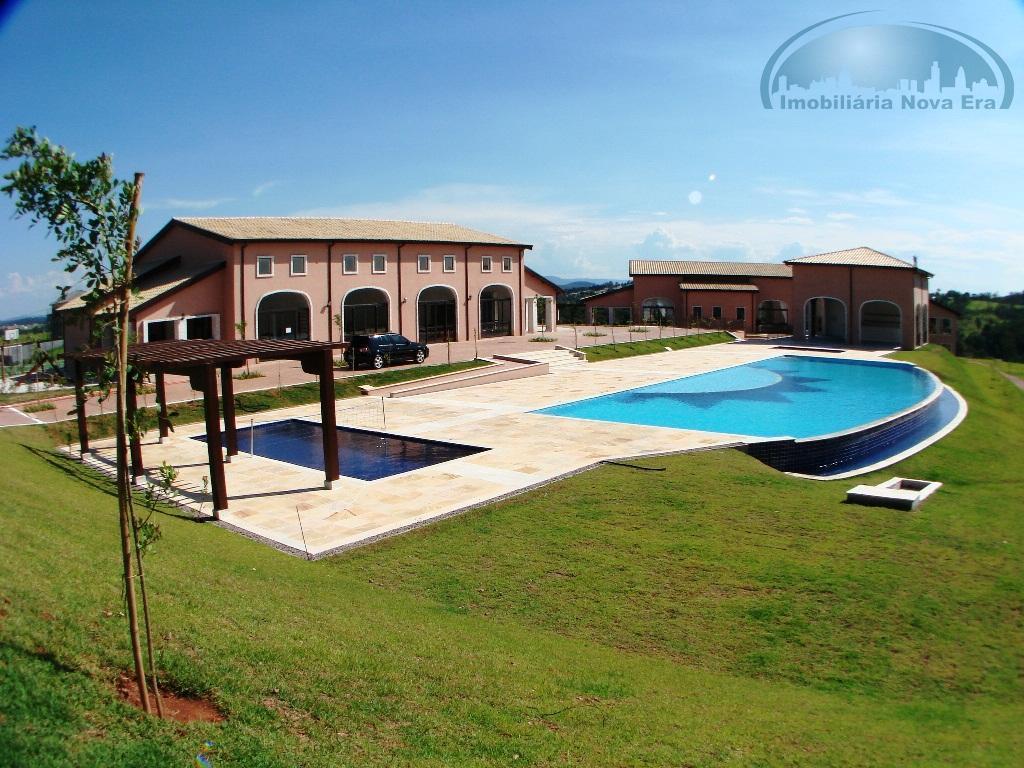 Terreno residencial à venda, Condomínio Campo de Toscana, Vinhedo - TE0368.
