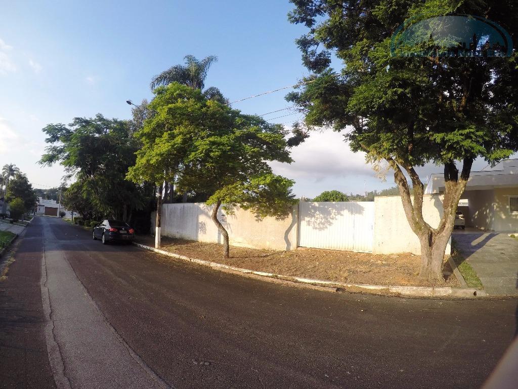 Terreno residencial à venda, Condomínio Estância Marambaia, Vinhedo.