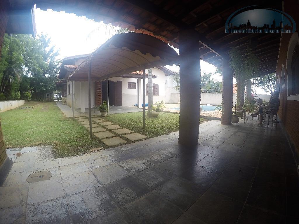 casa residencial à venda, condomínio vista alegre - sede, vinhedo - ca1179.casa térrea, 3 dormitórios sendo...