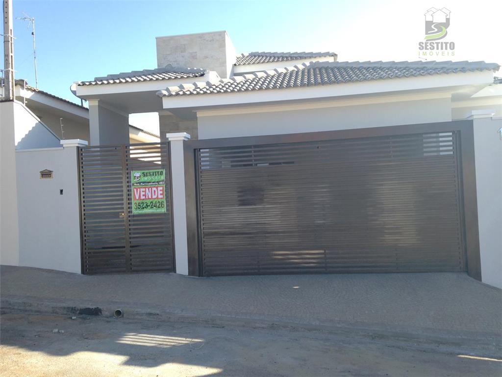 Casa residencial à venda, Loteamento Parque José Cury, Catanduva.