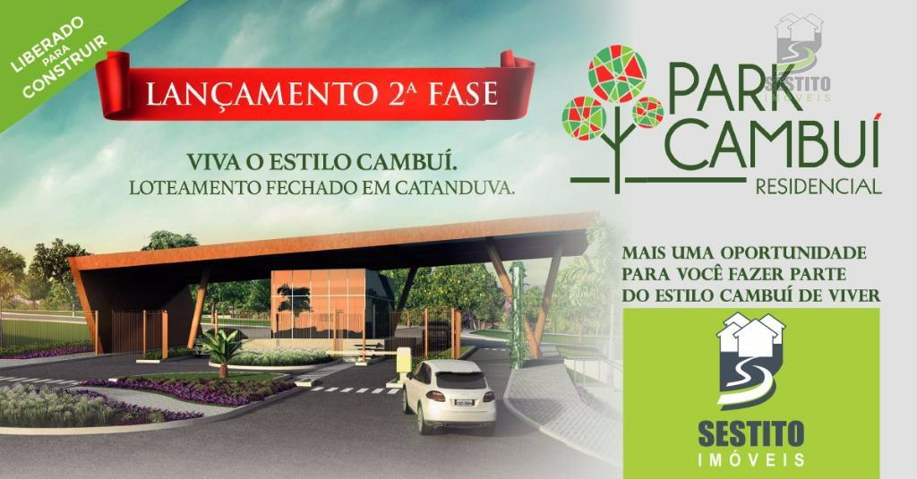 Terreno residencial à venda, Vila Motta, Catanduva.