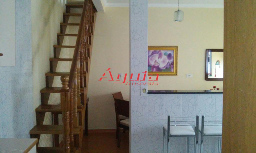 Sobrado de 3 dormitórios à venda em Jardim Santo Alberto, Santo André - SP