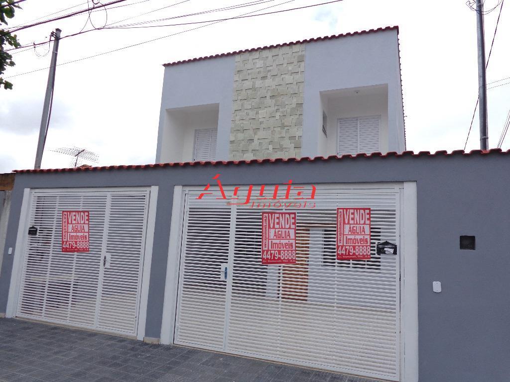 Sobrado residencial à venda, Parque Jaçatuba, Santo André - SO0006.