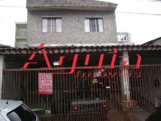Sobrado residencial à venda, Vila Lucinda, Santo André - SO0383.