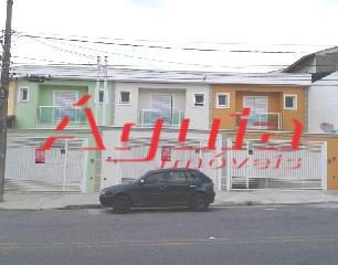 Sobrado Residencial à venda, Jardim Rina, Santo André - SO0324.